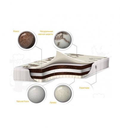Детский матрас Baby Sleep премиум класс, Solare COTTON, 120х60 см