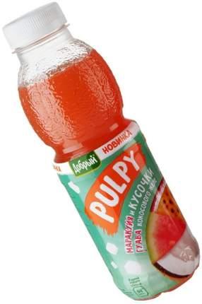 Напиток сокосодержащий Добрый Pulpy Маракуйя-гуава с кусочками кокосового желе 450мл
