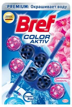 Средство чистящее для унитаза Bref Color Activ Цветочная свежесть 2шт*50г