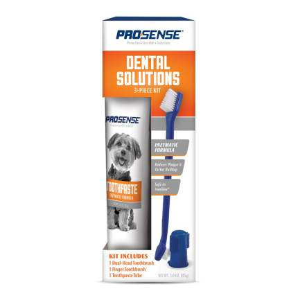 Набор для ухода за зубами для собак 8 IN 1 Pro-Sense 3 в 1