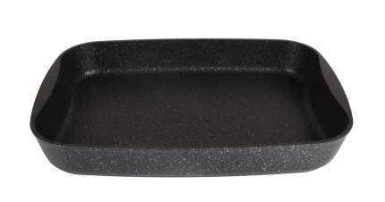 Противень а/пр литой 36,5х26х5,5см Темный мрамор ТМ KUKMARA