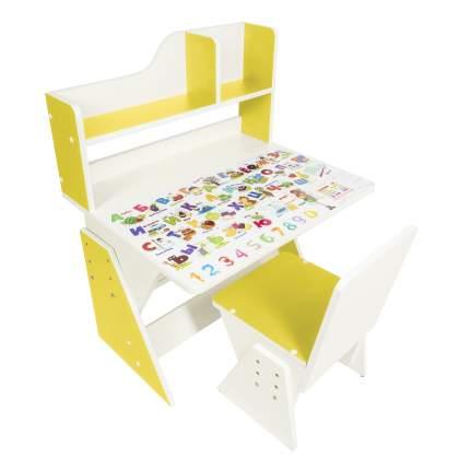 Детская растущая парта и стул Я САМ Первое место Солнечный свет