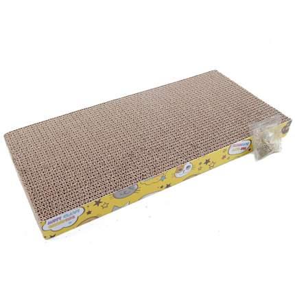 Когтеточка-коврик для кошек Pet Choice, гофрокартон, 44х23х4 см
