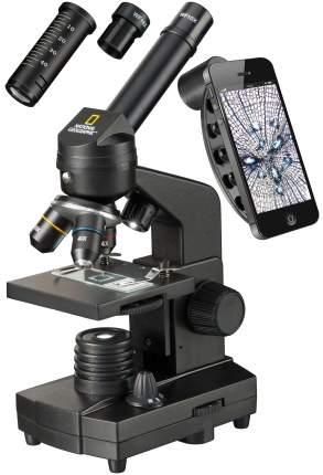 Микроскоп Bresser National Geographic 40x-1280x с держателем для смартфона