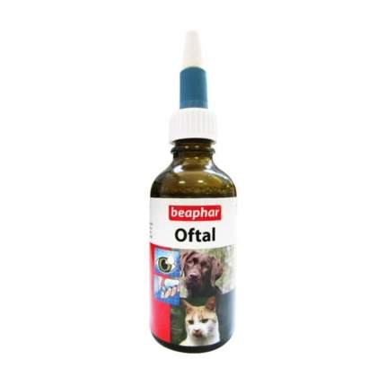 Лосьон для очищения глаз кошек и собак Beaphar Oftal Augenpflege, 50 мл