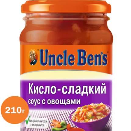 Кисло-сладкий соус с овощами для приготовления блюд Uncle Ben's 210 г
