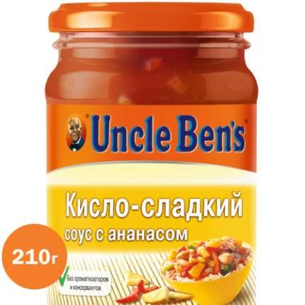 Кисло-сладкий соус с ананасом для приготовления блюд Uncle Ben's 210 г
