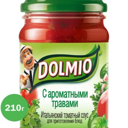 Итальянский томатный соус Dolmio для приготовления блюд с ароматными травами 210 г