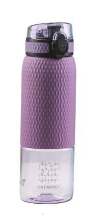 Водородно-минеральная бутылка Vione Mineral Bottle С силиконовой вставкой фиолетовая