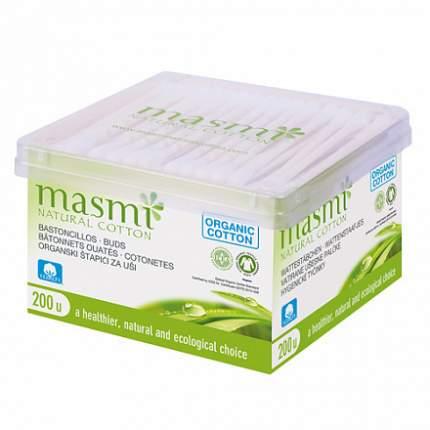 Гигиенические палочки Masmi, из органического хлопка, 200шт