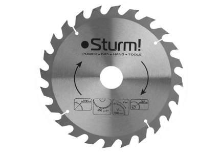 Диск по дереву для дисковых пил Sturm! 9020-200-32-24T