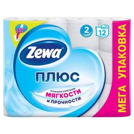 Туалетная бумага Zewa Белая 12 рул. 2 шт