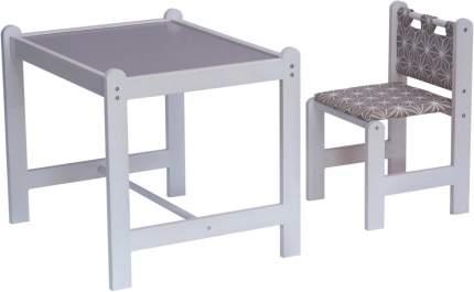 Набор игровой мебели Гном PIXY стол+стул, коричневый