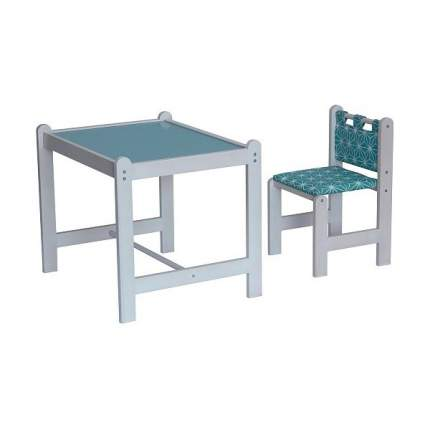 Набор игровой мебели Гном PIXY стол+стул, зеленый