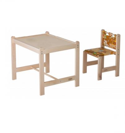 Набор игровой мебели Гном Малыш-2 стол+стул, столешница бежевая + Собаки
