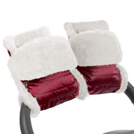 Муфта-рукавички для коляски Esspero Christer Ruby Натуральная шерсть
