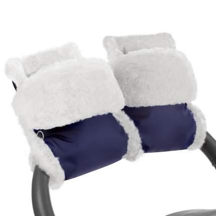 Муфта-рукавички для коляски Esspero Christer Navy Натуральная шерсть