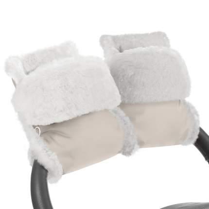 Муфта-рукавички для коляски Esspero Christer Beige Натуральная шерсть