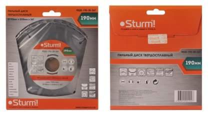Диск по дереву для дисковых пил Sturm! 9020-190-30-36T