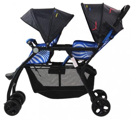 Коляска детская прогулочная Farfello Vivid Plus 2020 Синий