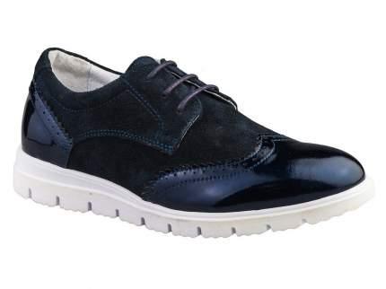 Полуботинки Elegami 5-520611702 цв.синий р.34