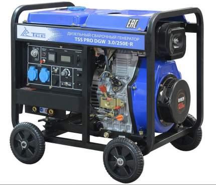 Сварочный дизельный генератор ТСС PRO DGW 3.0/250E-R (022833)