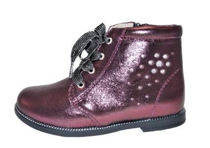 Ботинки ShagoVita 45100, цв.бордо,перламутр р.31
