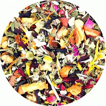 Травяной чай Малина с мятой, 100 г