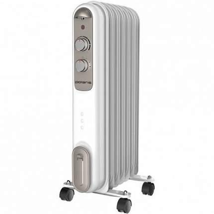 Масляный радиатор Polaris CR V 0715 Compact белый