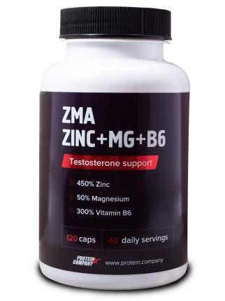 ZMA-комплекс Protein.Company ZINC + Mg + B6 120 капсул