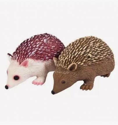 Игрушка-антистресс Junfa Toys Тянучка Nature world ёжик, в ассортименте