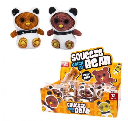 Игрушка-антистресс Junfa toys Тянучка Squeeze Bear, мишки в костюмах