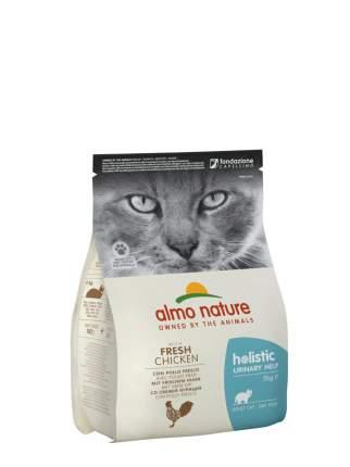 Сухой корм для кошек Almo Nature Для профилактики мочекаменной болезни, курица, 2кг