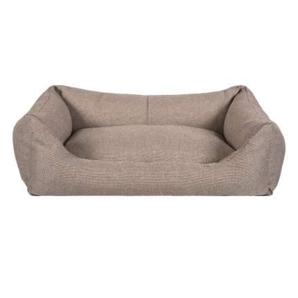 Лежанка для кошки, собаки Tappi текстиль, с подушкой, бежевый, 55х40х18см