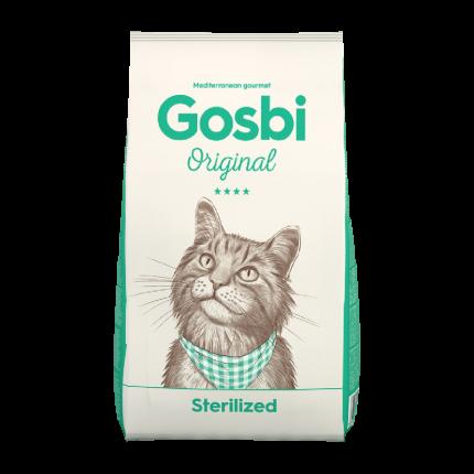 Сухой корм для кошек Gosbi STERILIZED, курица,  1кг