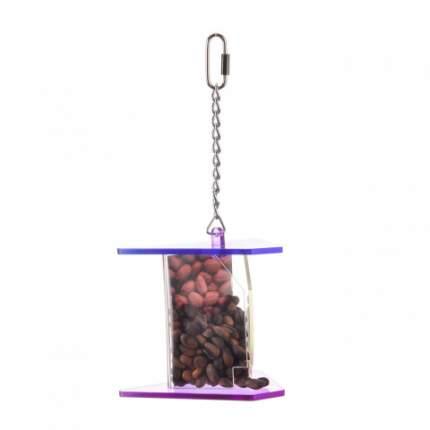 Фуражная игрушка для птиц HAPPY BIRD Ореховая кормушка, акрил, 15x26см