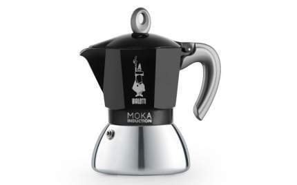 Гейзерная кофеварка Bialetti New Moka Induction Black 4 порции