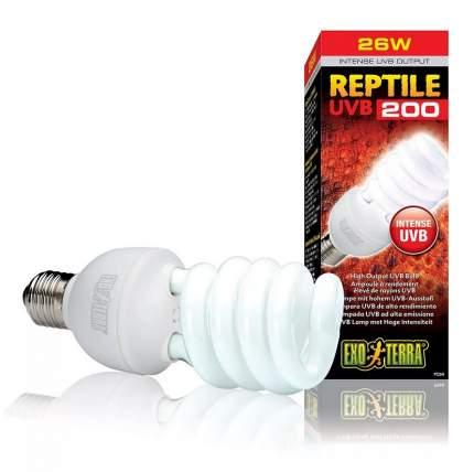Ультрафиолетовая лампа для террариума Exo Terra Reptile UVB200, 26 Вт