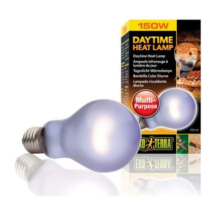 Неодимовая лампа для террариума Exo Terra Sun Glo Daylight, дневного света, А 21, 150 Вт