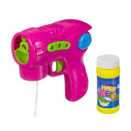 Пистолет с мыльными пузырями Bondibon ВВ2783 110 мл