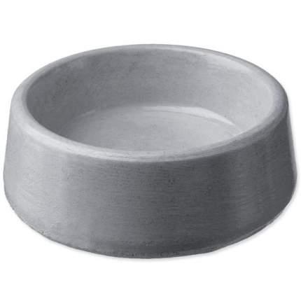 Одинарная миска для грызуны Dog Fantasy, керамика, серый, 0.045 л