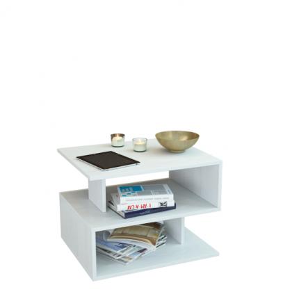Журнальный столик MFMaster Арто-22 МСТ-СЖА-22-БТ-16 59х39х42,8 см, белый