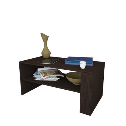 Журнальный столик MFMaster Арто-21 МСТ-СЖА-21-ВМ-16 80х49х45 см, венге