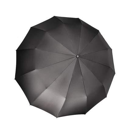 Зонт-автомат Три Слона 912-01 черный