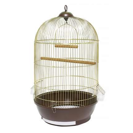 Клетка для птиц KREDO 330, круглая, в ассортименте, 40 x 40 х 71 см