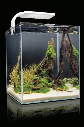 Нано-аквариум для креветок, для рыб Aquael SHRIMP SET SMART LED PLANT ll, белый,10 л