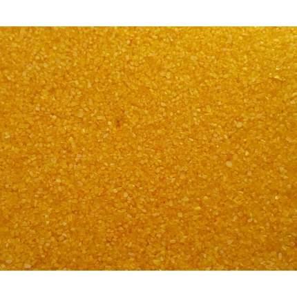 Натуральный песок для аквариумов Aqua Excellent Deco, желтый, 1 кг, 0,9 л
