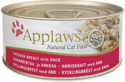 Консервы для кошек Applaws, с курицей и уткой, 156г