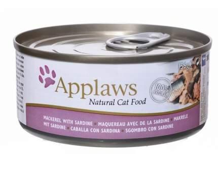 Консервы для кошек Applaws, со скумбрией и сардинками, 70г