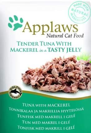 Влажный корм для кошек Applaws, кусочки тунца в желе, 70г